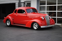 1937 Chevrolet Five Window Coupe